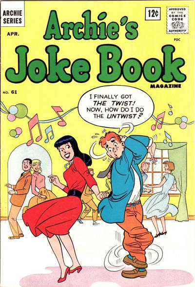 Cover for Archie's Joke Book Magazine (Archie, 1953 series) #61
