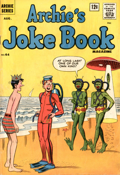 Cover for Archie's Joke Book Magazine (Archie, 1953 series) #64