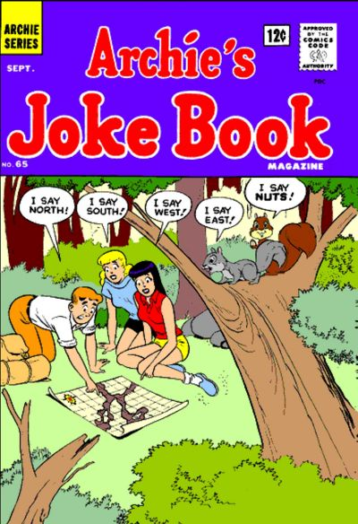 Cover for Archie's Joke Book Magazine (Archie, 1953 series) #65