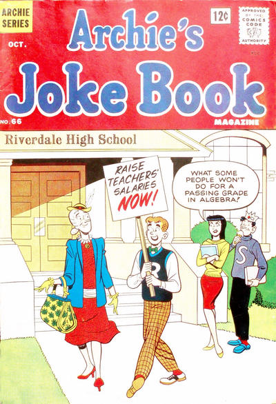 Cover for Archie's Joke Book Magazine (Archie, 1953 series) #66