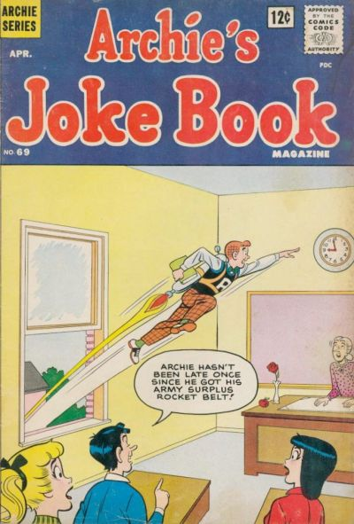 Cover for Archie's Joke Book Magazine (Archie, 1953 series) #69