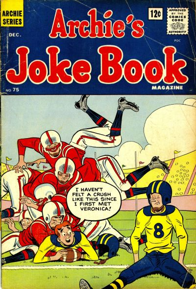 Cover for Archie's Joke Book Magazine (Archie, 1953 series) #75