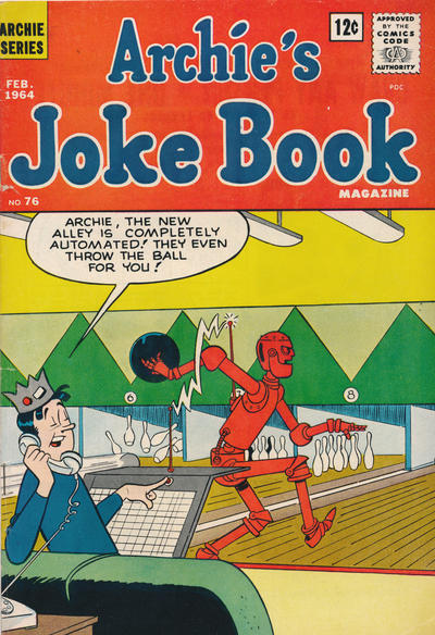 Cover for Archie's Joke Book Magazine (Archie, 1953 series) #76