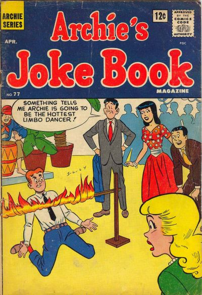 Cover for Archie's Joke Book Magazine (Archie, 1953 series) #77