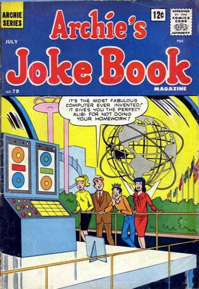 Cover for Archie's Joke Book Magazine (Archie, 1953 series) #79