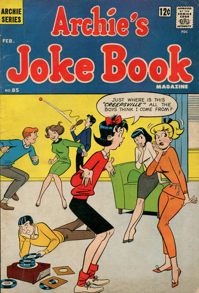 Cover for Archie's Joke Book Magazine (Archie, 1953 series) #85