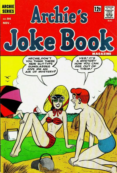 Cover for Archie's Joke Book Magazine (Archie, 1953 series) #94