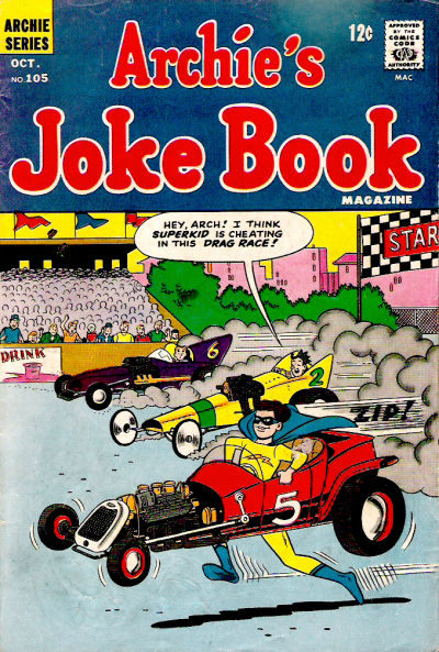 Cover for Archie's Joke Book Magazine (Archie, 1953 series) #105