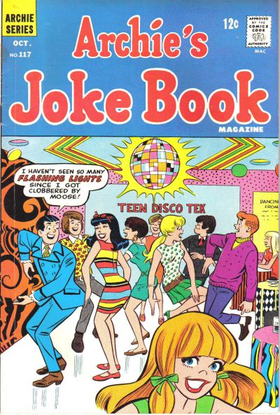 Cover for Archie's Joke Book Magazine (Archie, 1953 series) #117