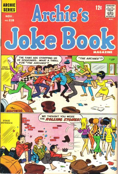 Cover for Archie's Joke Book Magazine (Archie, 1953 series) #118