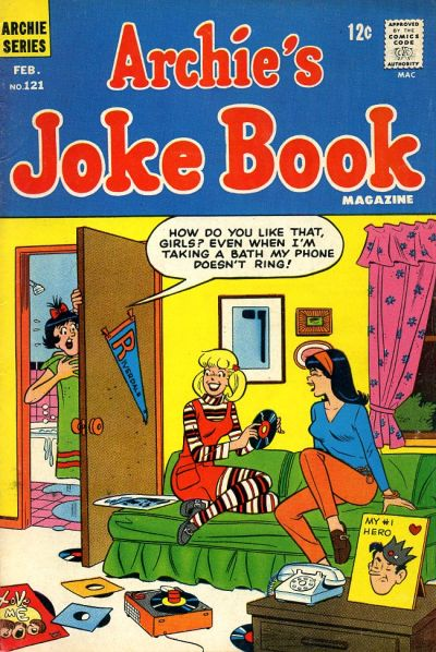 Cover for Archie's Joke Book Magazine (Archie, 1953 series) #121