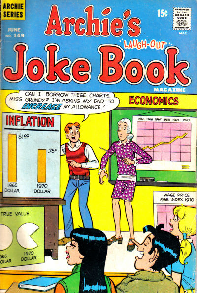 Cover for Archie's Joke Book Magazine (Archie, 1953 series) #149