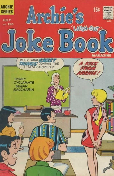 Cover for Archie's Joke Book Magazine (Archie, 1953 series) #150