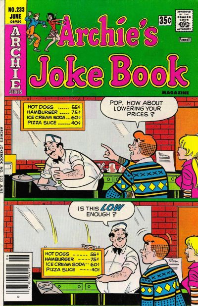 Cover for Archie's Joke Book Magazine (Archie, 1953 series) #233