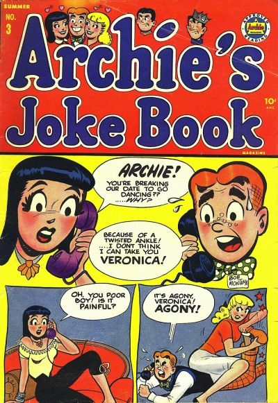 Cover for Archie's Joke Book Magazine (Archie, 1953 series) #3