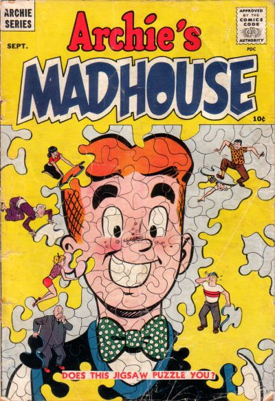 Cover for Archie's Madhouse (Archie, 1959 series) #1