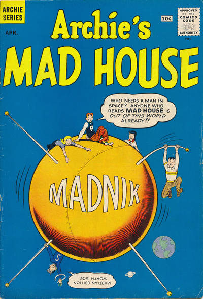 Cover for Archie's Madhouse (Archie, 1959 series) #11