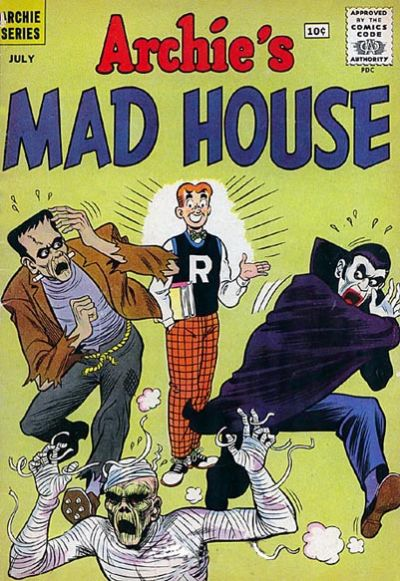 Cover for Archie's Madhouse (Archie, 1959 series) #13