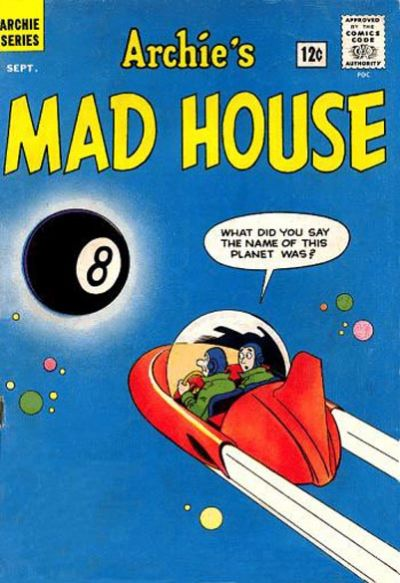 Cover for Archie's Madhouse (Archie, 1959 series) #21