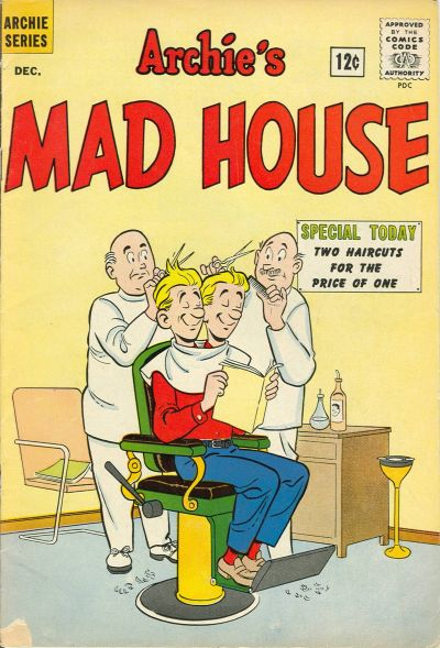 Cover for Archie's Madhouse (Archie, 1959 series) #23