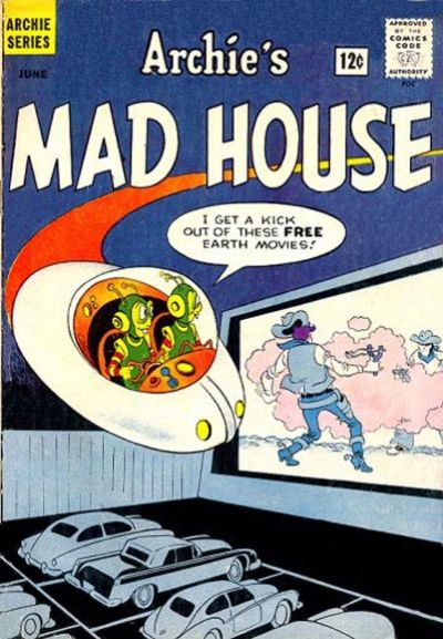Cover for Archie's Madhouse (Archie, 1959 series) #26