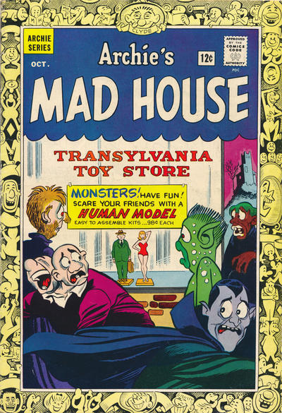 Cover for Archie's Madhouse (Archie, 1959 series) #36