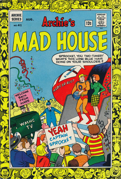 Cover for Archie's Madhouse (Archie, 1959 series) #41