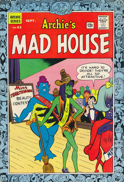 Cover for Archie's Madhouse (Archie, 1959 series) #42