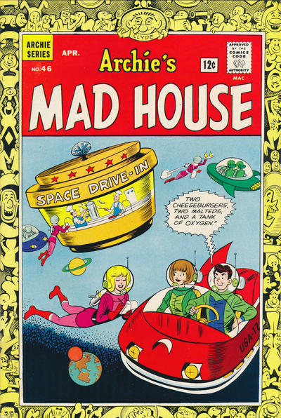 Cover for Archie's Madhouse (Archie, 1959 series) #46