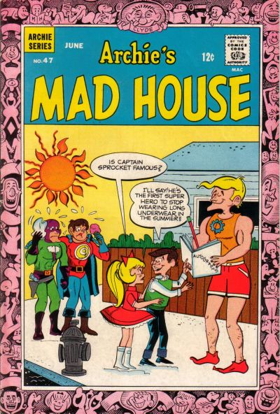 Cover for Archie's Madhouse (Archie, 1959 series) #47