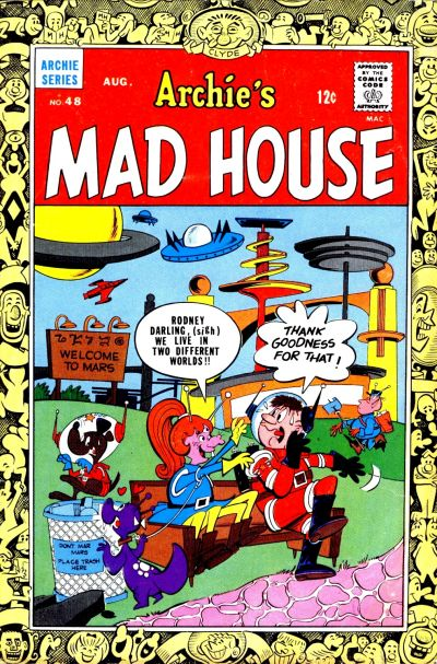 Cover for Archie's Madhouse (Archie, 1959 series) #48