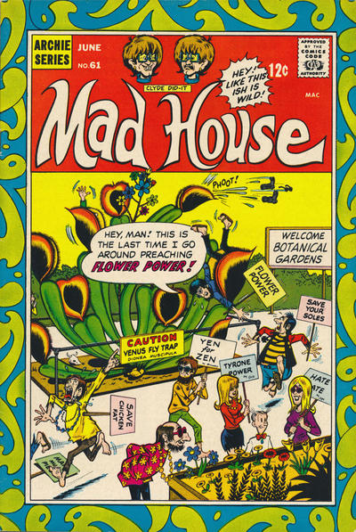 Cover for Archie's Madhouse (Archie, 1959 series) #61