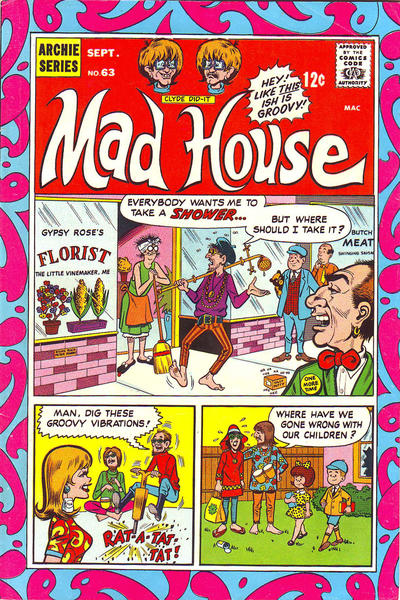 Cover for Archie's Madhouse (Archie, 1959 series) #63