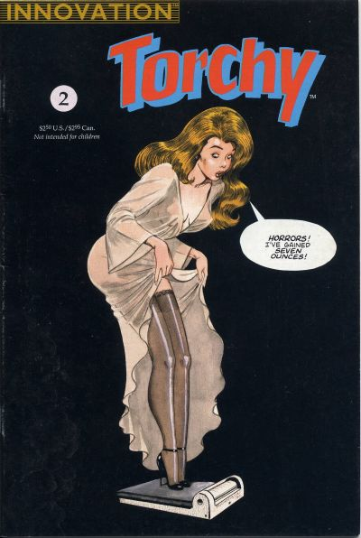 Cover for Bill Ward's Torchy (Innovation, 1991 series) #2