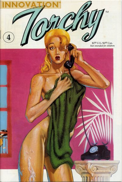 Cover for Bill Ward's Torchy (Innovation, 1991 series) #4