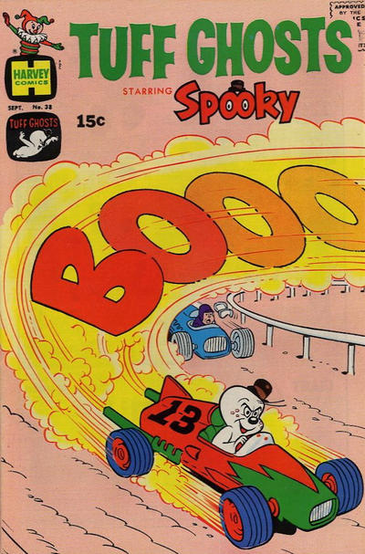 Cover for Tuff Ghosts Starring Spooky (Harvey, 1962 series) #38
