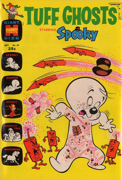 Cover for Tuff Ghosts Starring Spooky (Harvey, 1962 series) #40
