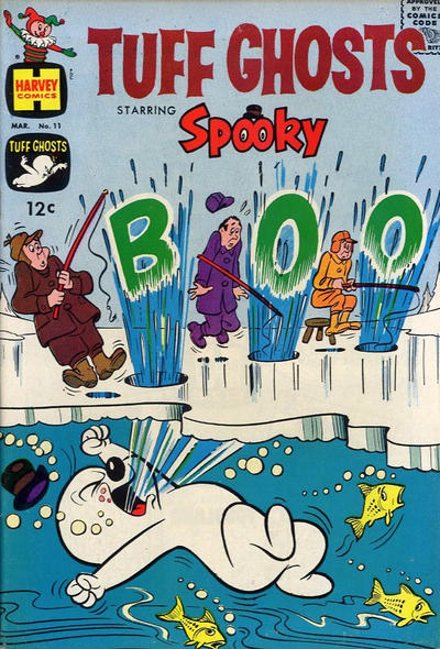 Cover for Tuff Ghosts Starring Spooky (Harvey, 1962 series) #11