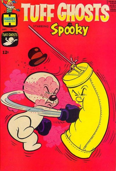 Cover for Tuff Ghosts Starring Spooky (Harvey, 1962 series) #12