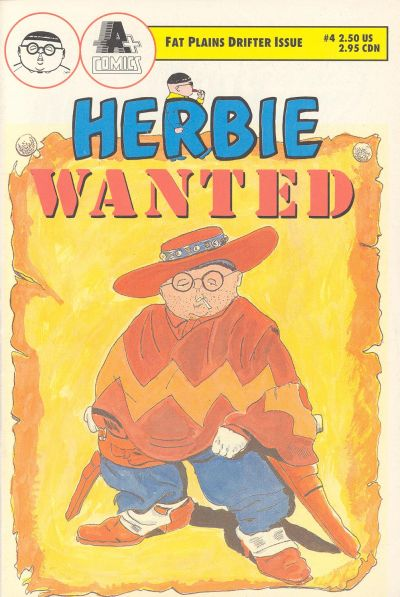 Cover for Herbie (A-Plus Comics, 1990 series) #4