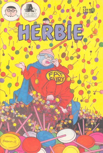 Cover for Herbie (A-Plus Comics, 1990 series) #5