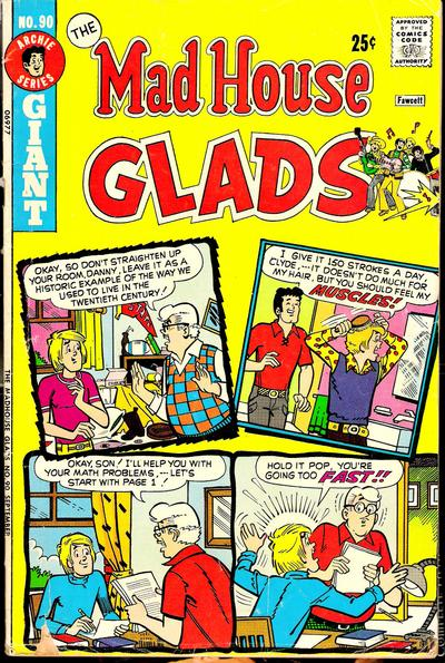 Cover for The Mad House Glads (Archie, 1970 series) #90