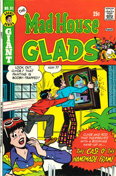 Cover for The Mad House Glads (Archie, 1970 series) #91