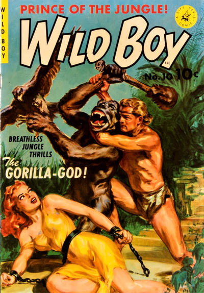 Cover for Wild Boy (Ziff-Davis, 1950 series) #10 [1]