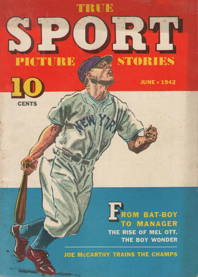 Cover for True Sport Picture Stories (Street and Smith, 1942 series) #v1#7