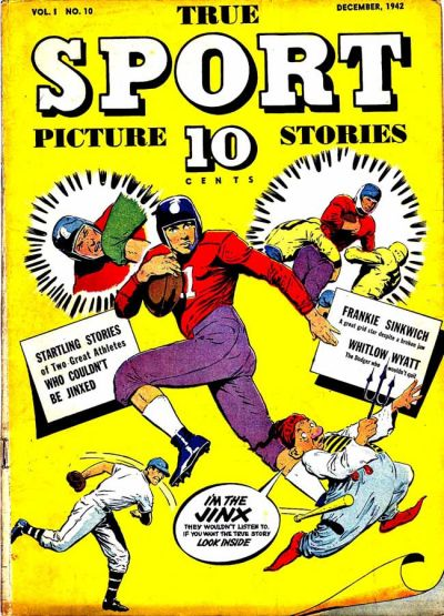 Cover for True Sport Picture Stories (Street and Smith, 1942 series) #v1#10