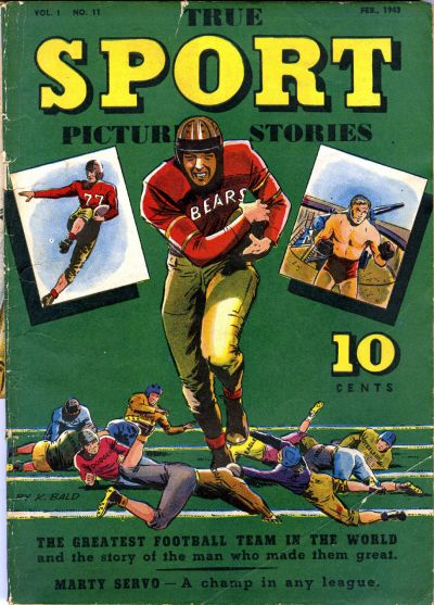 Cover for True Sport Picture Stories (Street and Smith, 1942 series) #v1#11