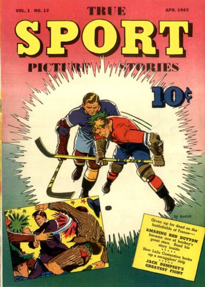 Cover for True Sport Picture Stories (Street and Smith, 1942 series) #v1#12