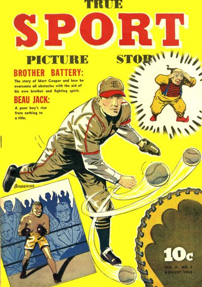 Cover for True Sport Picture Stories (Street and Smith, 1942 series) #v2#2