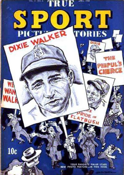 Cover for True Sport Picture Stories (Street and Smith, 1942 series) #v2#6